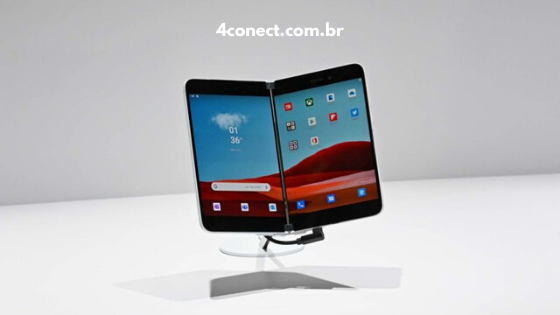 celular com duas telas lançado pela microsoft