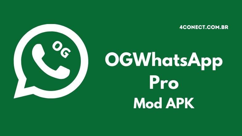 baixar ogwhatsapp pro apk atualizado 2021 download para android