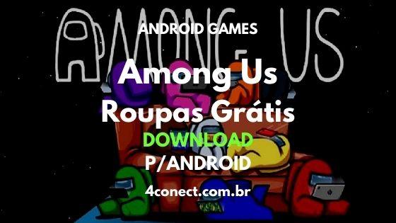 baixar among us roupas gratis atualizado download para android