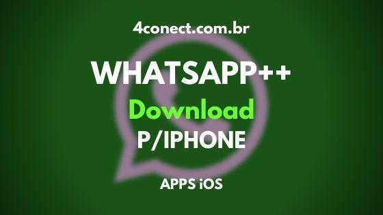 baixar whatsap++ ios 2020 para iphone