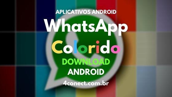 whatsapp colorido atualizado baixar