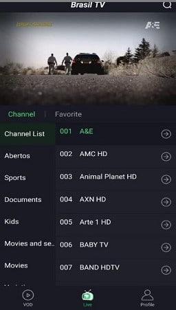 tv brasil new apk para android