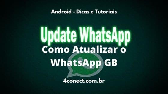 como atualizar o whatsapp gb para nova versão pelo próprio aplicativo