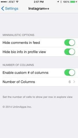 baixar instagram++ atualizado para iPhone ios