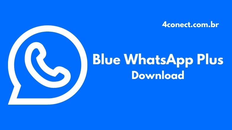 blue whatsapp plus apk para android